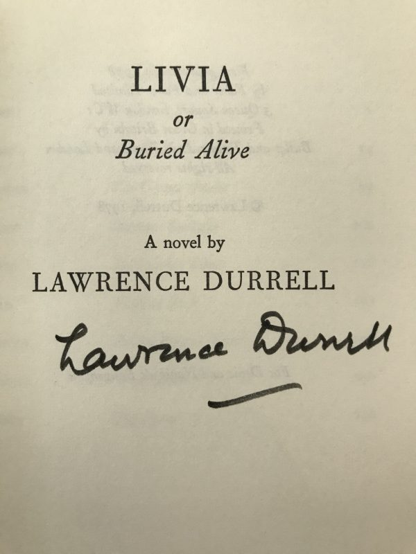 lawrence durrell the avignon quintet signed first edition set4