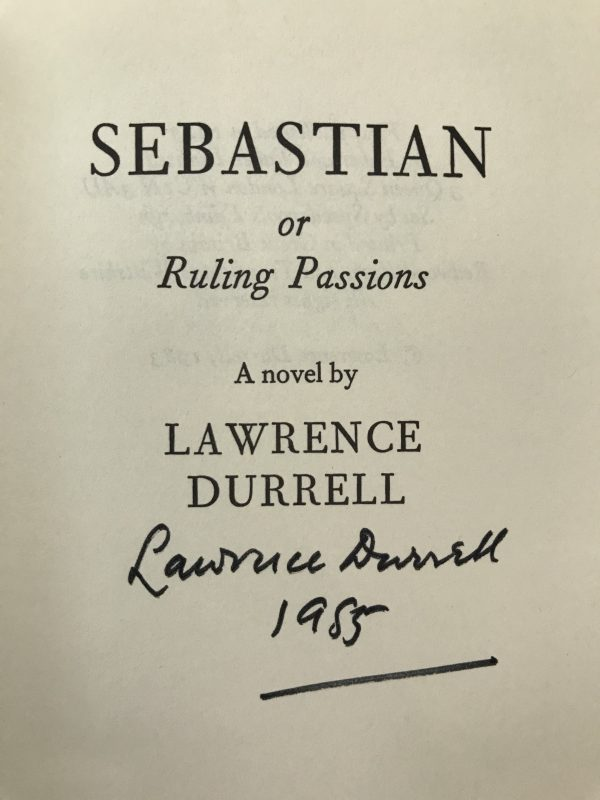lawrence durrell the avignon quintet signed first edition set6
