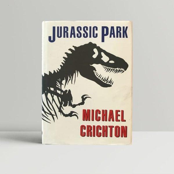 michael crichton jurassic park first uk edition