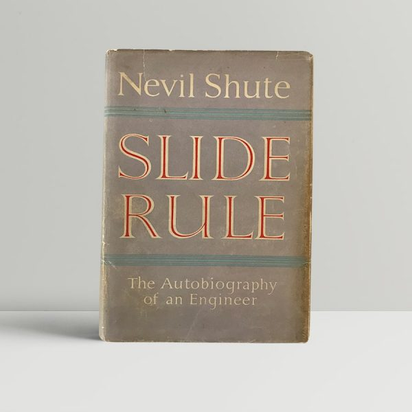 nevil shute slide rule first edition1