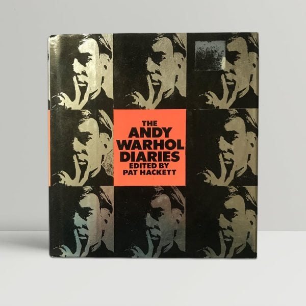 pat hackett the andy warhol diaries first edition1