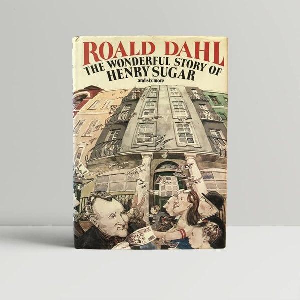 roald dahl the wonderful story of henry sugar first uk edition