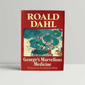roald dahl georges marvellous medicine first uk edition