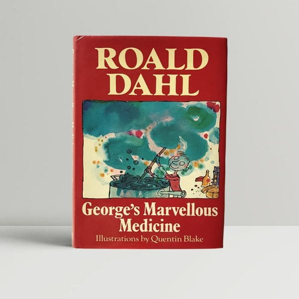 roald dahl georges marvellous medicine first uk edition
