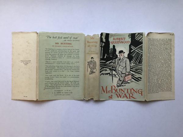robert greewood mr bunting at war signed first edition4