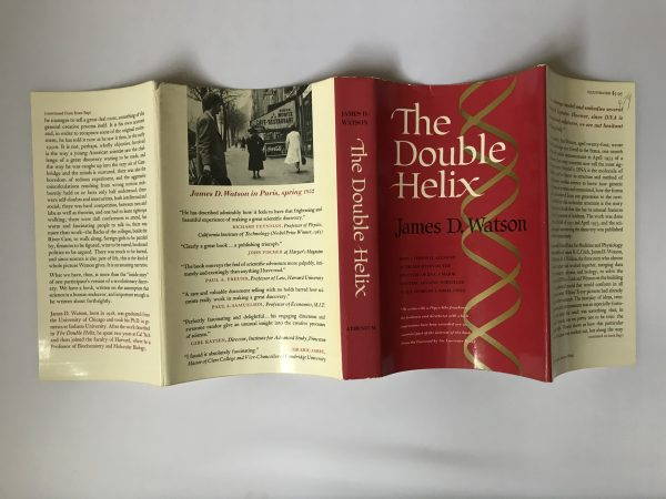 the double helix first edition double signed5