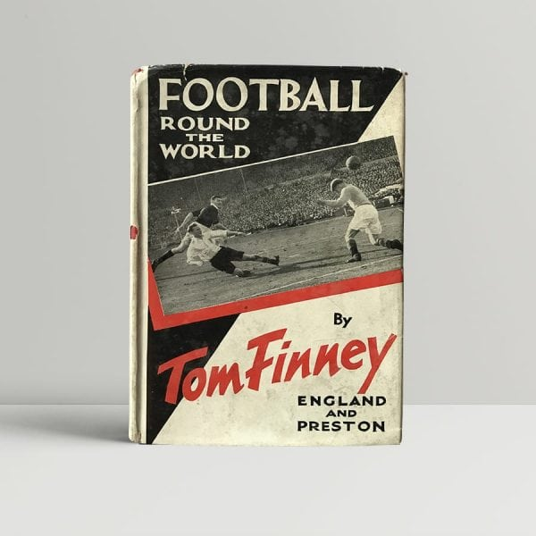 tom finney football around the world first uk edition signed