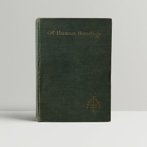 w somerset maugham of human bondage first uk edition