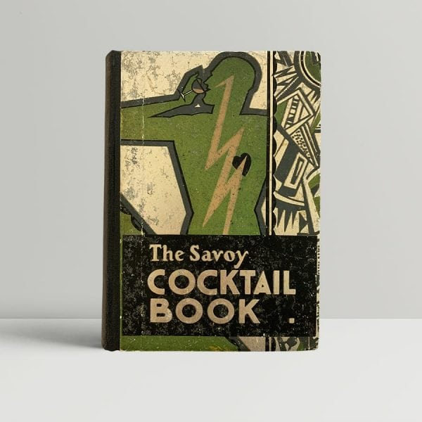 Craddock The Savoy Cocktail Book First Edition Rare
