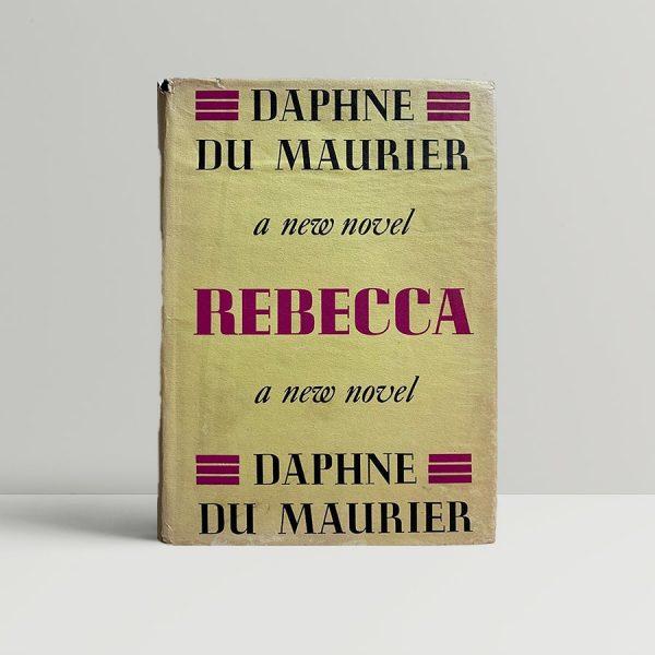Daphne du Maurier Rebecca First Edition Rare Signed
