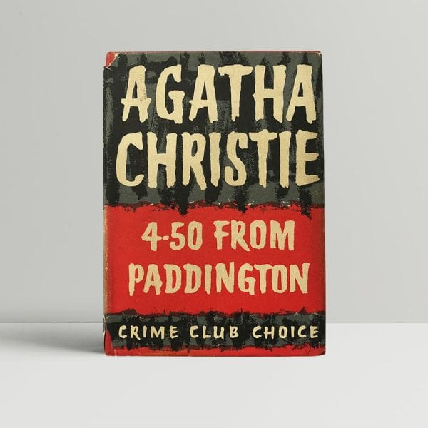 agatha christie 450 from paddington first edition1