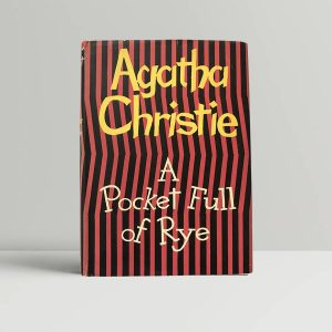 agatha christie a pocket full of rye first edition1
