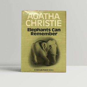 agatha christie elephants can remember first edition1
