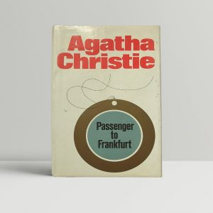 agatha christie passenger to frankfurt first edition1