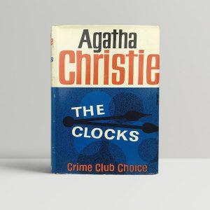 agatha christie the clocks first edition1 1