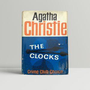 agatha christie the clocks first edition1 2