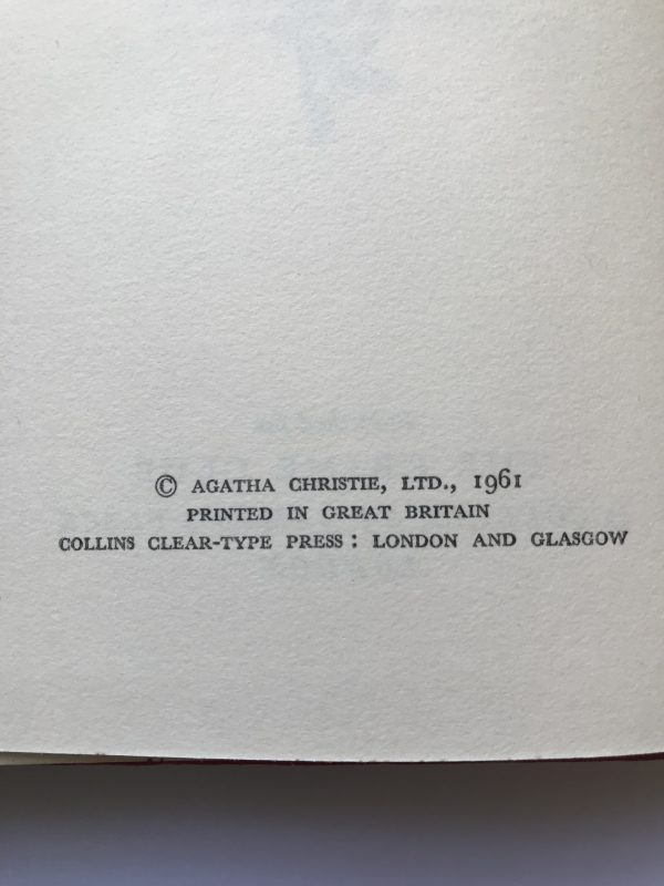 agatha christie the pale horse first edition2