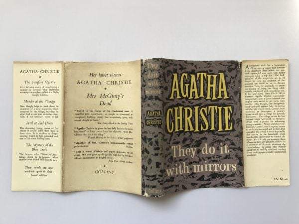 agatha christie they do it with mirrors first edition4