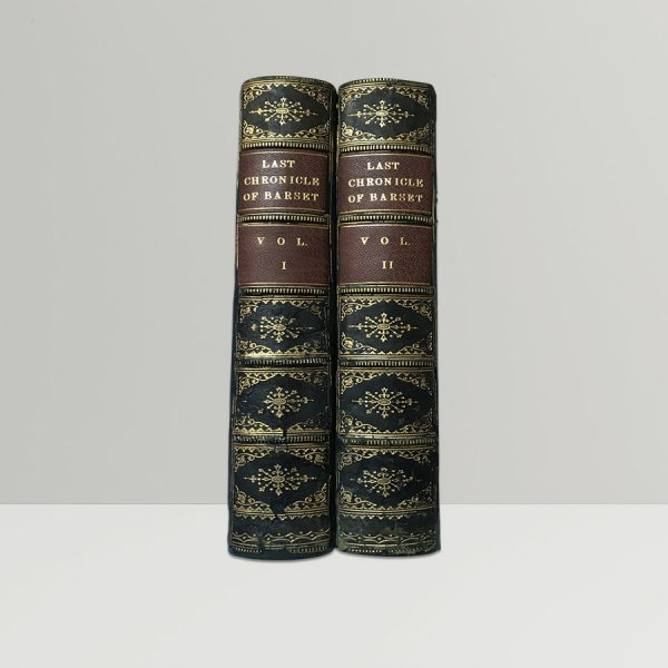 anthony trollope last chronicle of barset first edition two volumes2