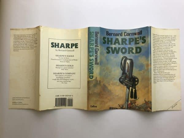 bernard cornwell sharpes sword first edition4 1