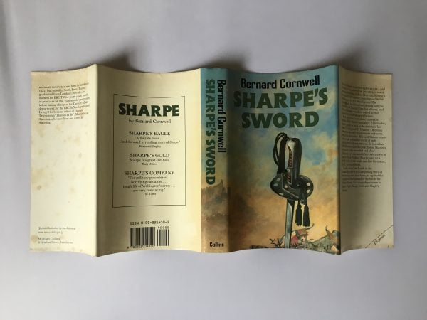 bernard cornwell sharpes sword first edition4