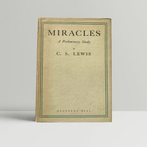 cs lewis miracles first edition1