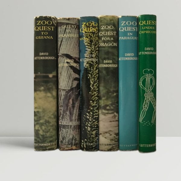 david attenborough zoo quest first edition set1