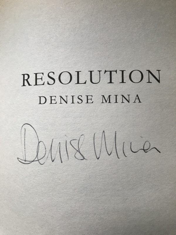 denise mina garnethill trilogy first editions3