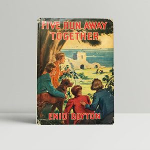 enid blyton five run away together first edition1