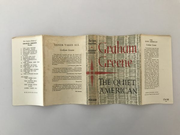 graham greene the quiet american first edition4