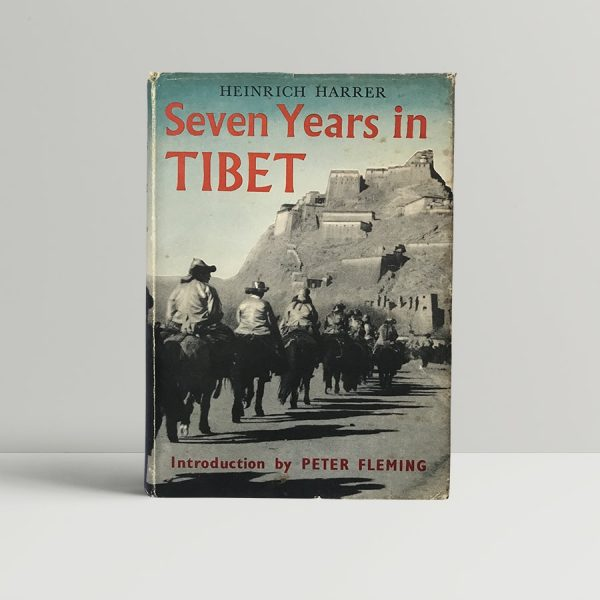 heinrich harrer seven years in tibet first edition1