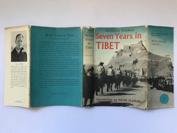 heinrich harrer seven years in tibet first edition3