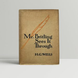 hg wells mr britling sees it through first edition1