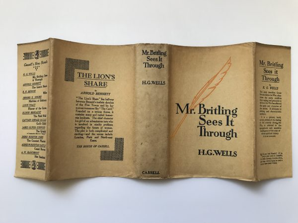 hg wells mr britling sees it through first edition4