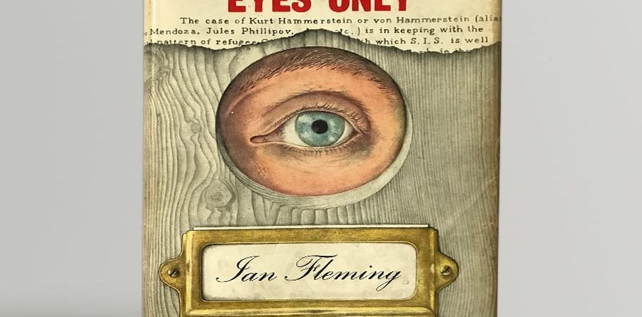 ian fleming for your eyes only signed roger moore1