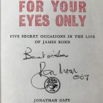 ian fleming for your eyes only signed roger moore2