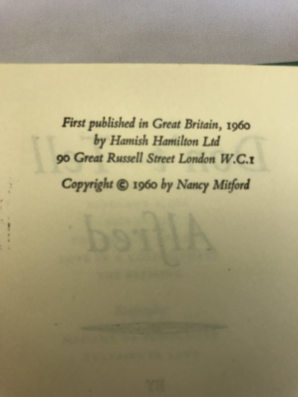 nancy mitford dont tell alfred first edition2 1