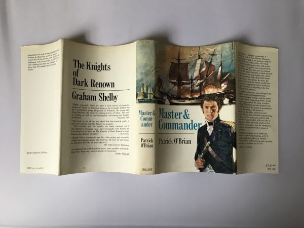 patrick obrian master and commander first edition4