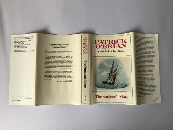 patrick obrian the surgeons mate first edition3