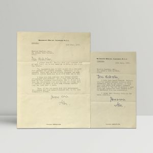 two letters from ian fleming to nicholas bentley1
