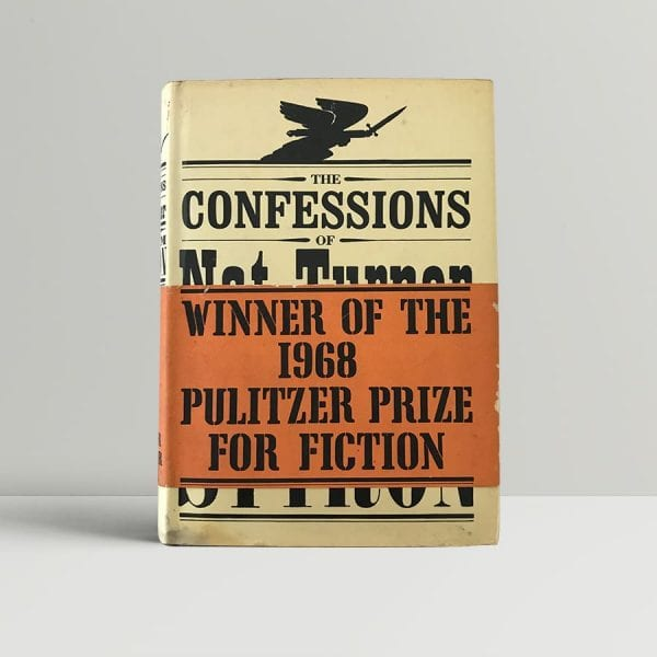 wiliam styron the confessions of nat turner first edition1