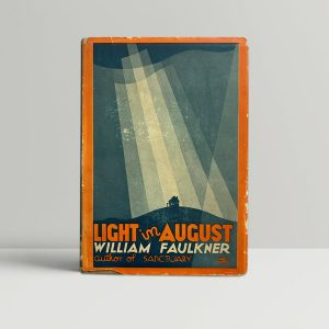 william faulkner light in august first us edition1