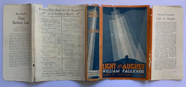 william faulkner light in august first us edition4