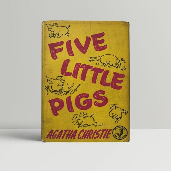 agatha christie five little pigs first edition1