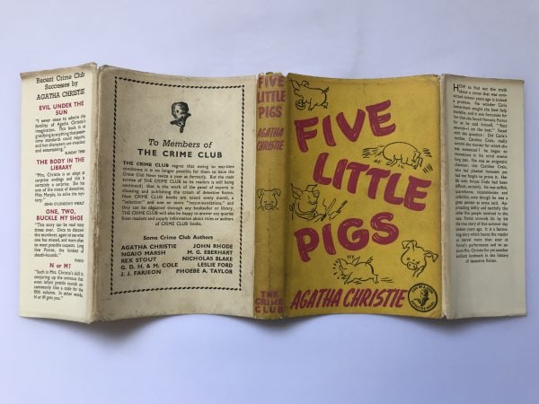 agatha christie five little pigs first edition4