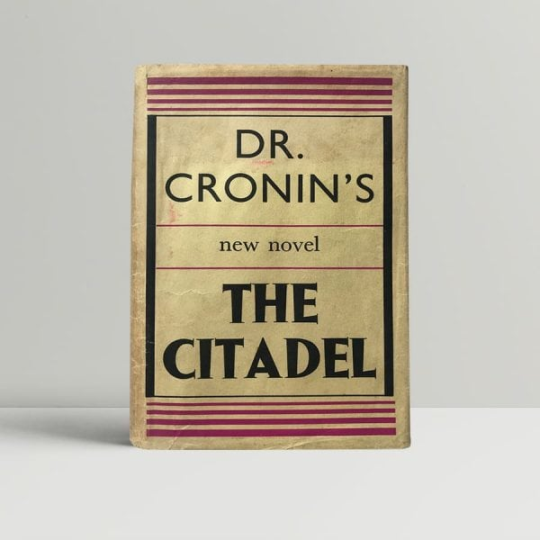 aj cronin the citadel first edition1