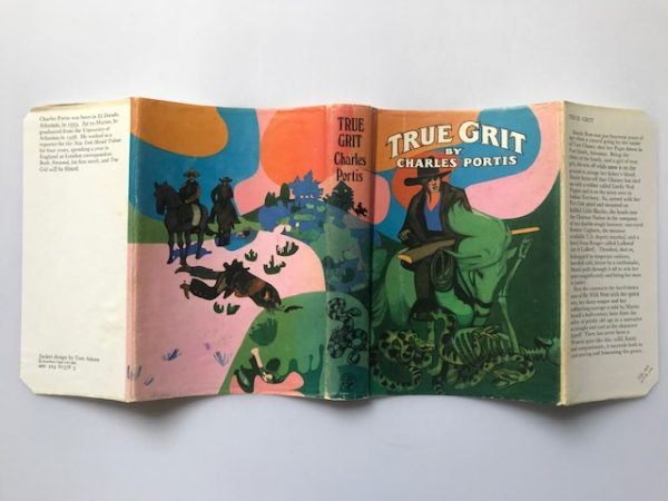 charles portis true grit first edition2