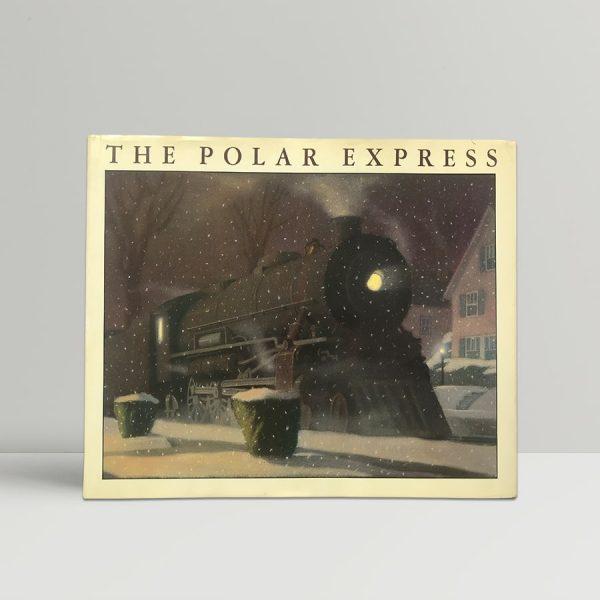 christopher van allsburg the polar express first edition1