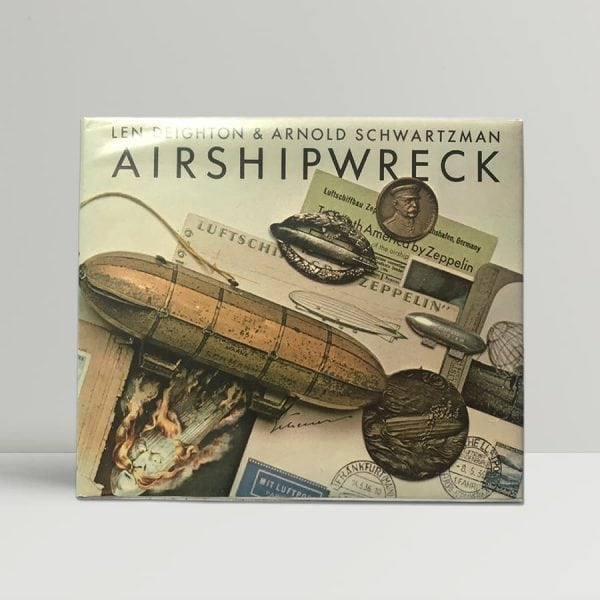 deighton and schwartzman airshipwreck fisrt edition1