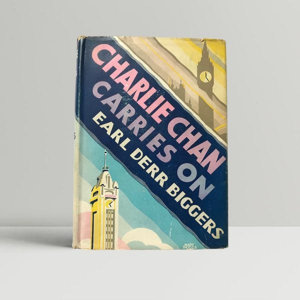 earl derr biggers charlie chan carries on first edition1